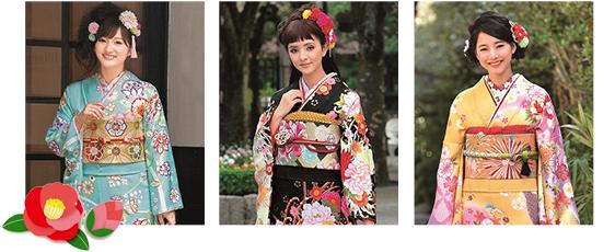 グループ全体で年間振袖展示枚数1,500枚以上!有村架純や白石麻衣など人気モデルの振袖も充実♪いつご来店いただいても、豊富な種類の振袖から貴方に似合うお気に入りの一着を見つけられます!