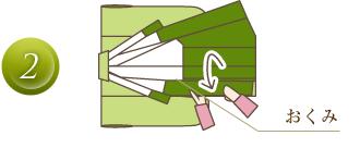 振袖のたたみ方2
