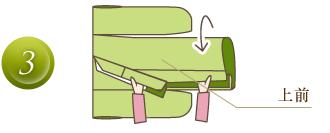 振袖のたたみ方3