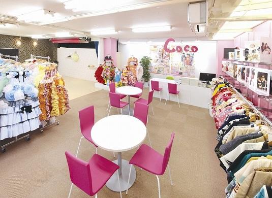 振袖レンタルのスタジオCoco 会津若松店 店舗外観